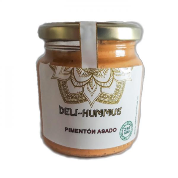 Hummus Pimentón Asado 250grs Deli-Hummus