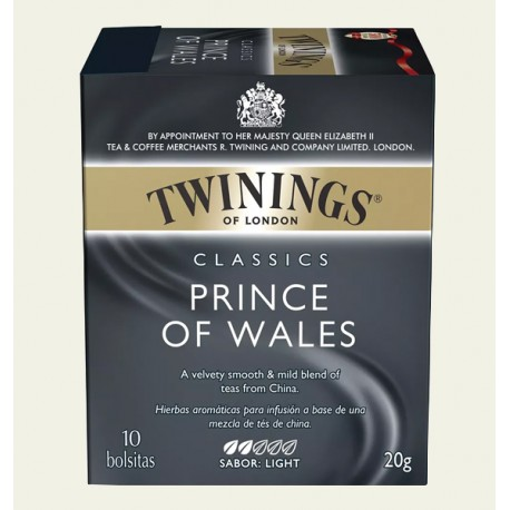 té twinings princes of wales