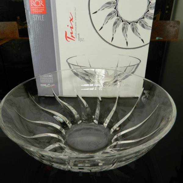 Fuente de cristal italiana RCR 245mm